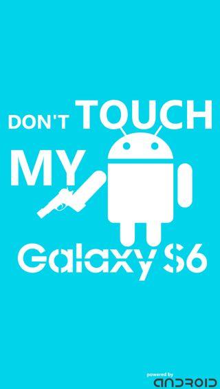 Обои на телефон трогать, смартфон, не, мой, галактика, dont touch my galaxy