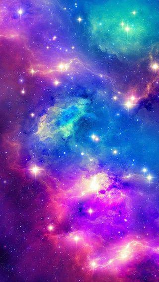 Обои на телефон розовые, космос, галактика, galaxy, bluea