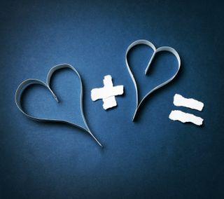 Обои на телефон смайлики, сердце, милые, любовь, лучшие, забавные, love plus love, love, hd, 4k, 2015, 1080