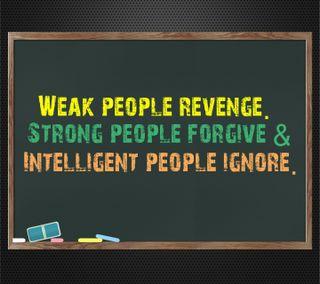 Обои на телефон сильный, простить, поговорка, новый, месть, weak, intelligent, ignore