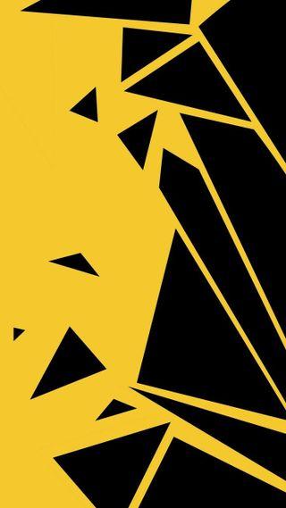 Обои на телефон охотник, черные, треугольник, тема, логотипы, желтые, диджей, monster, electronica, dj, cowboys, breaking, black and yellow