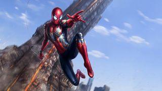 Обои на телефон человек паук, мстители, войны, бесконечность, spiderman avengers, nanosuit, infinity, badass