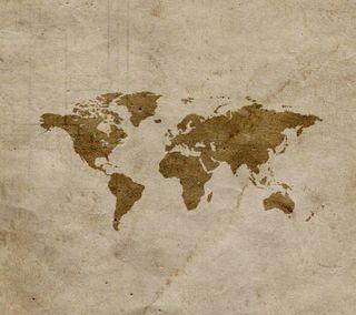 Обои на телефон мир, карта