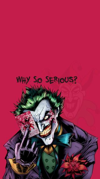 Обои на телефон клоун, розовые, почему, джокер, бэтмен