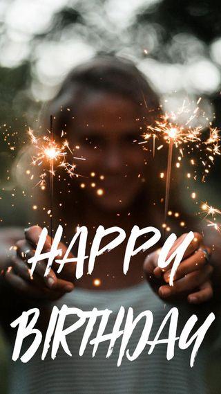 Обои на телефон цитата, счастливые, себя, день рождения, бог, hbd