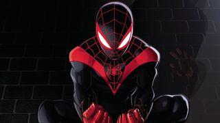Обои на телефон герой, черные, супер, паук, анимационные, verse, spider man