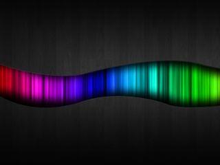 Обои на телефон аврора, цветные, дерево, абстрактные, aurora wood
