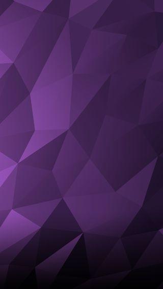 Обои на телефон многоугольник, фиолетовые, поли, геометрические, poly wallpaper vio
