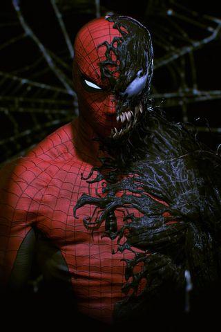 Обои на телефон человек паук, пс4, паук, марвел, абстрактные, ps4, marvel, man