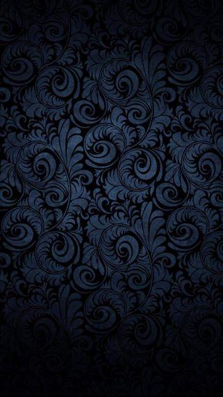 Обои на телефон узоры, шаблон, черные, цветы, стена, синие, галактика, galaxy