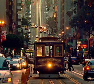 Обои на телефон трафик, машины, жизнь, город, city life