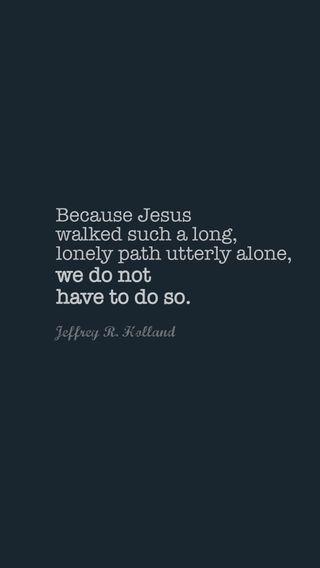 Обои на телефон библия, одиночество, одинокий, исус, бог, walked, jeffrey, holland