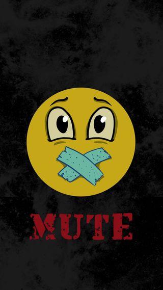 Обои на телефон эмоджи, черные, смайлики, мультфильмы, желтые, глаза, высказывания, yellow smiley, mute