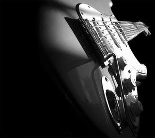 Обои на телефон гитара, черные, темные, рок, музыка, металл