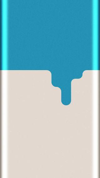 Обои на телефон грани, синие, графические, арт, абстрактные, s7