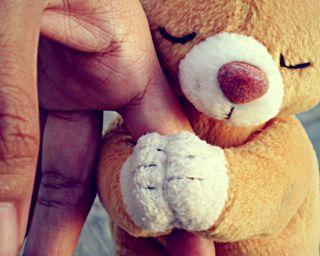 Обои на телефон надежда, прекрасные, милые, медведь, hope-bear, hd