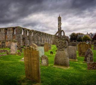 Обои на телефон кельтский, ирландские, ирландия, st paddy, graveyard, cemetery