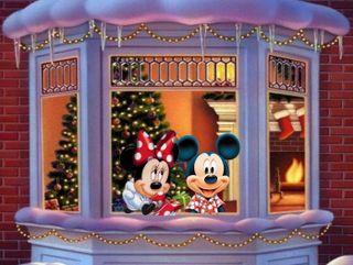 Обои на телефон счастливое, рождество, микки, дисней, mickey mause, disney
