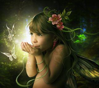 Обои на телефон сказочные, рисунки, маленький, little fairy, faerie, fae