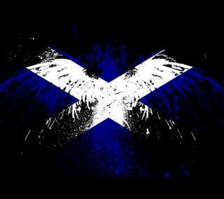 Обои на телефон шотландия, англия, флаг