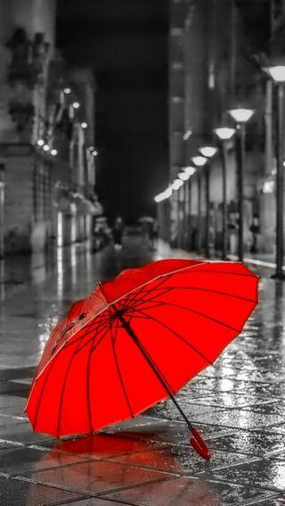 Обои на телефон дождь, природа, красые, амбрелла