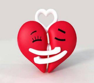 Обои на телефон валентинки, счастливые, сердце, пара, любовь, день, love