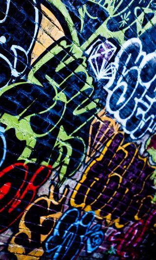 Обои на телефон граффити, цветные, городские, абстрактные