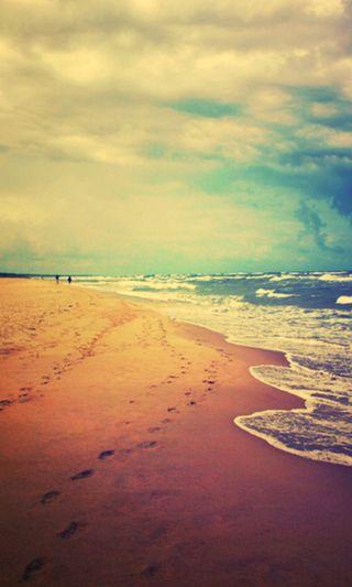 Обои на телефон берег, море
