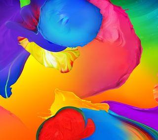 Обои на телефон перо, цветные, самсунг, рисунки, красочные, галактика, sv, samsung, galaxy s5