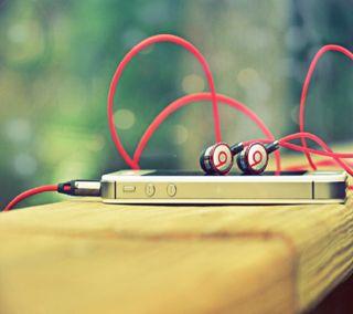 Обои на телефон наушники, эпл, крутые, айфон, iphone4, iphone 4, beats, apple