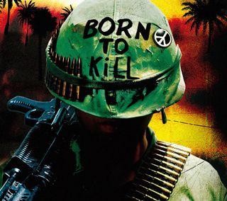 Обои на телефон фильмы, солдат, рожденный, vietnam, sentence, kill, born to kill