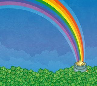 Обои на телефон патрика, ирландские, ирландия, золотые, зеленые, zedgestps, pot o gold, paddys, leprechaun