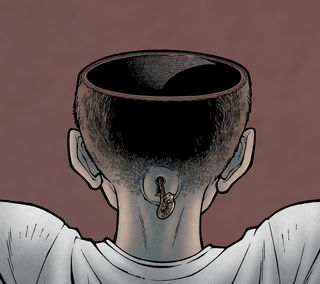 Обои на телефон холм, родригес, голова, ужасы, пустой, лавкрафт, комиксы, empty head