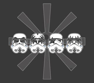 Обои на телефон штурмовики, джедай, поцелуй, империя, звезда, войны, kiss stormtroopers