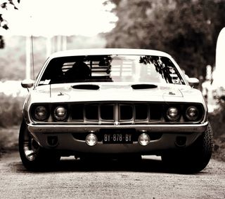 Обои на телефон chevrolet, cuda, chevrolet cuda 1971, машины, классные, авто, спорт, старые, мускул, ок, шевроле