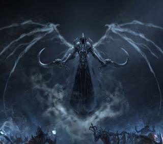 Обои на телефон смерть, крылья, scythes