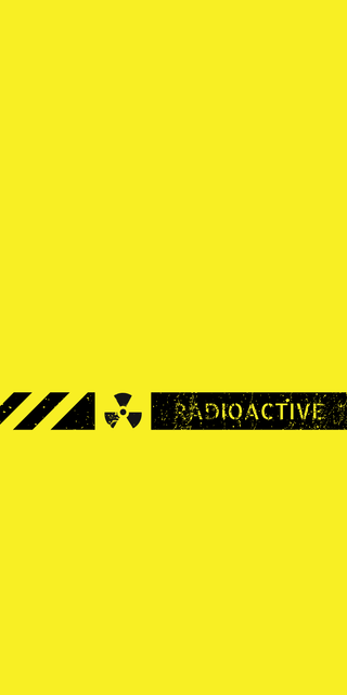 Обои на телефон радиоактивный, домашний экран, экран блокировки, дизайн