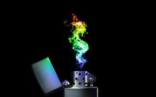 Обои на телефон желтые, черные, синие, пламя, огонь, красые, зеленые, зажигалка, абстрактные