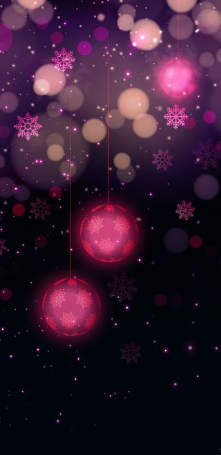 Обои на телефон девчачие, счастливое, симпатичные, свет, розовые, рождество, пузыри, праздник, огни, блестящие