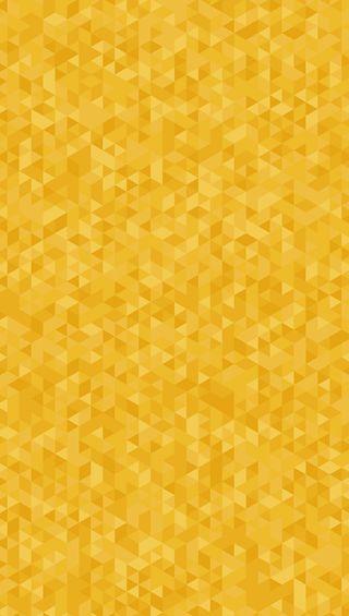 Обои на телефон треугольники, желтые