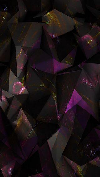 Обои на телефон galaxy, абстрактные, черные, галактика, темные, геометрические, многоугольник