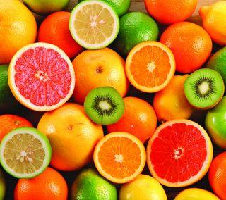 Обои на телефон фрукты, еда, citrus