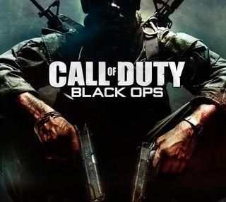 Обои на телефон черные, cod, black ops