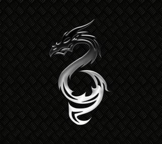 Обои на телефон dragon, темные, дракон, металл, серебряные, стальные, дрейк, змея, змеевидный