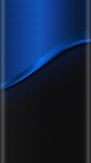 Обои на телефон черные, стиль, синие, дизайн, грани, абстрактные, s7, edge style