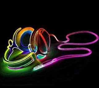 Обои на телефон наушники, цветные, танец, рок, неоновые, музыка, красочные, диджей, вечеринка, dj