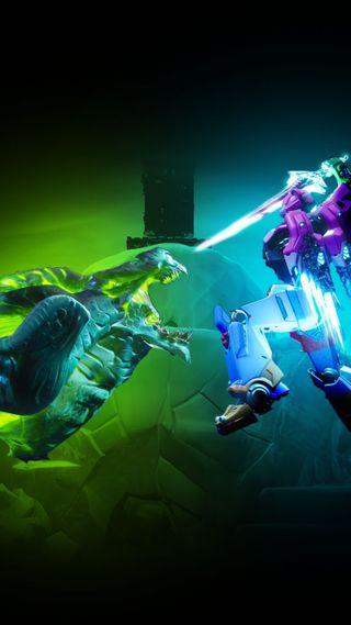Обои на телефон фортнайт, сезон, робот, против, robot vs monster, live event season 9, live event fortnite, fortnite robot vs monster, fortnite live event, fortnite backbground, fortnite