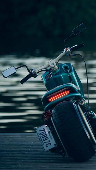 Обои на телефон мотоциклы, озеро, мото