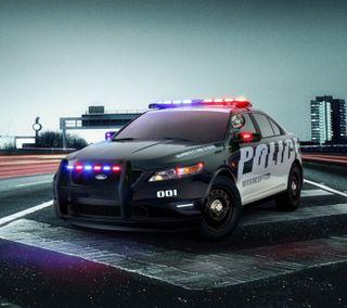 Обои на телефон полиция, форд, спортивные, машины, police car, ford