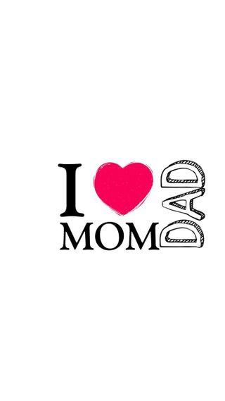 Обои на телефон эмоция, отец, мама, любовь, love mom dad, love